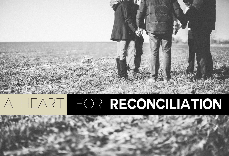 SERMON SERIES: A HEART FOR RECONCILIATION - Kinsmen Lutheran